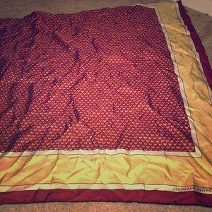 Vineyard vines silk scarf